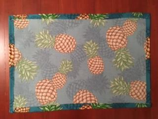 This is the back of one of the finished placemats.