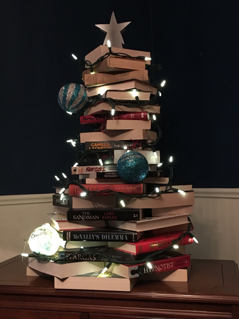This is the finished Book Tree.