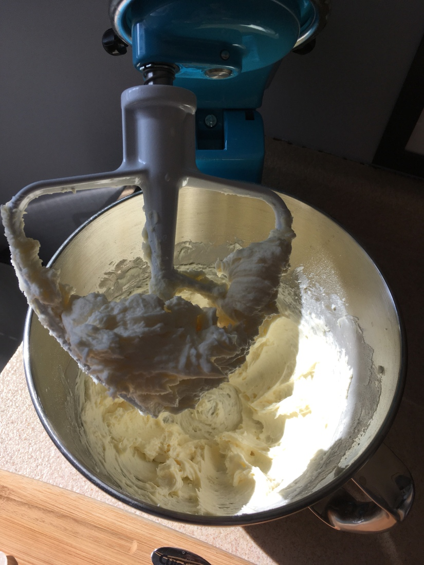I used the stand mixer for the buttercream icing and it worked great.
