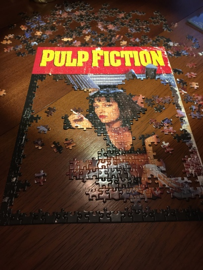 Next course of action was to get the Mia Wallace pieces all in place.